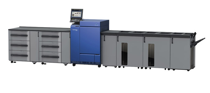 The Konica Minolta C1100 Digital Color Press